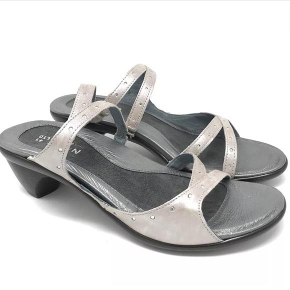 Naot Naot Naot Schuhes   Sandales Größe 41 10 Leder Slides Heel   Poshmark dc10f5